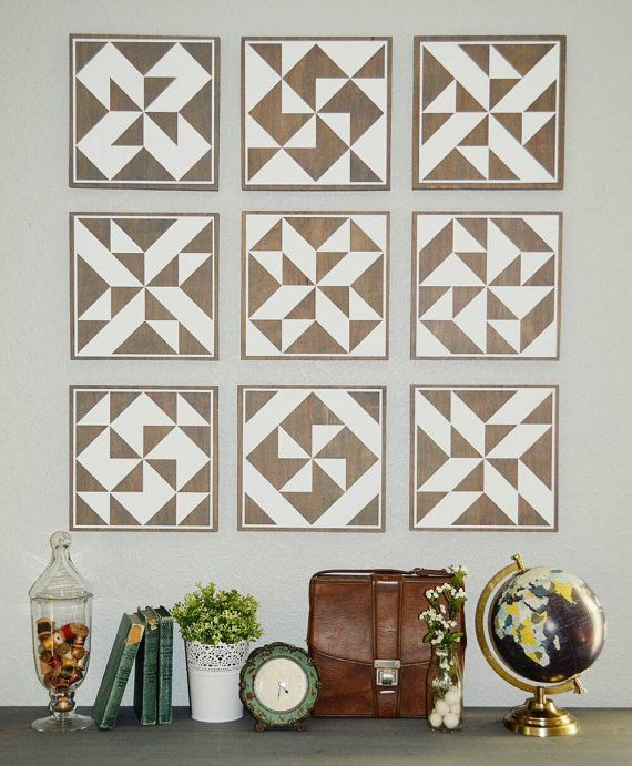 How to make a wood quilt block