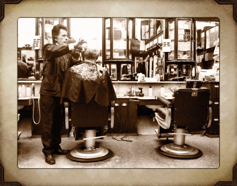 Old barber shop window - Old Barber Shop Szukaj W Google