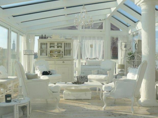Wintergarten Einrichten wintergarten einrichten weiße shaggy möbel teppich wintergarten