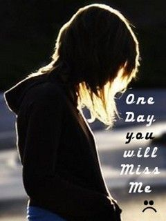 Download Free One Day U Miss Me Mobile Wallpaper Contributed By
