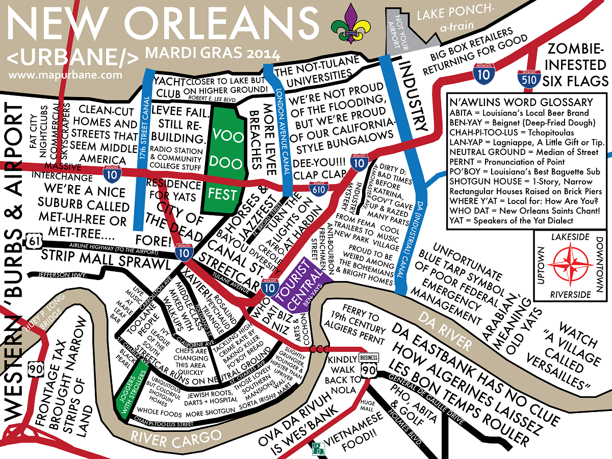The Man About World New Orleans Travel Guide