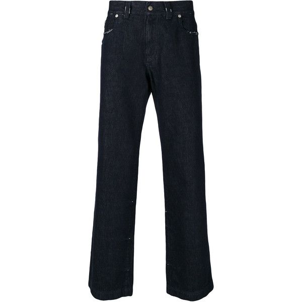 Mens classic fit bootcut jeans
