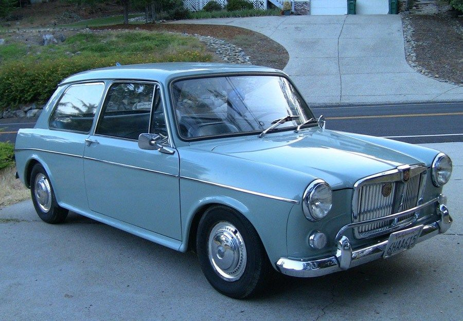 1965 MG 1100 Coupe | Autos - 1960 to 1969 | Pinterest | Car barn ...