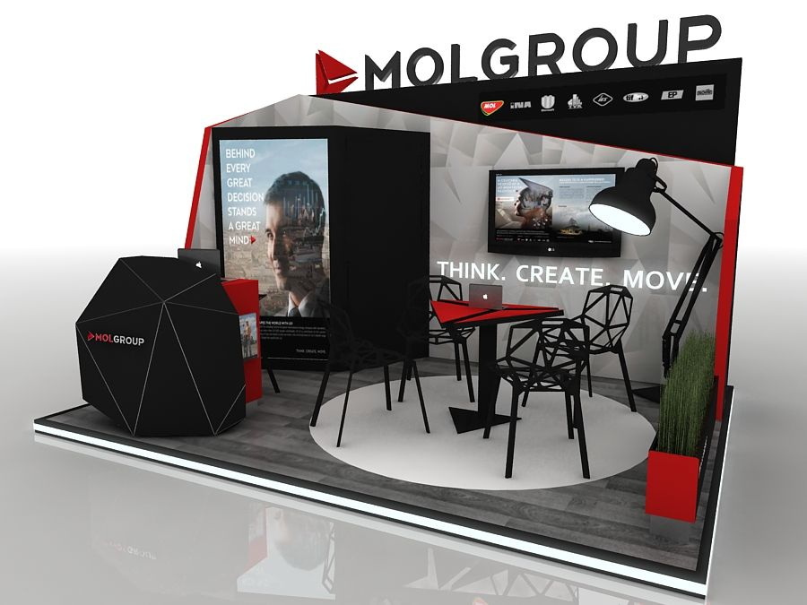 Exhibition design tender on Behance
