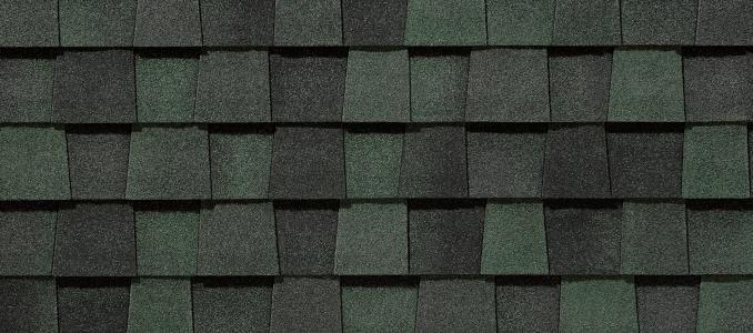 Landmark PRO Premium Designer Residential Roofing – Hunter Green Roof Shingles