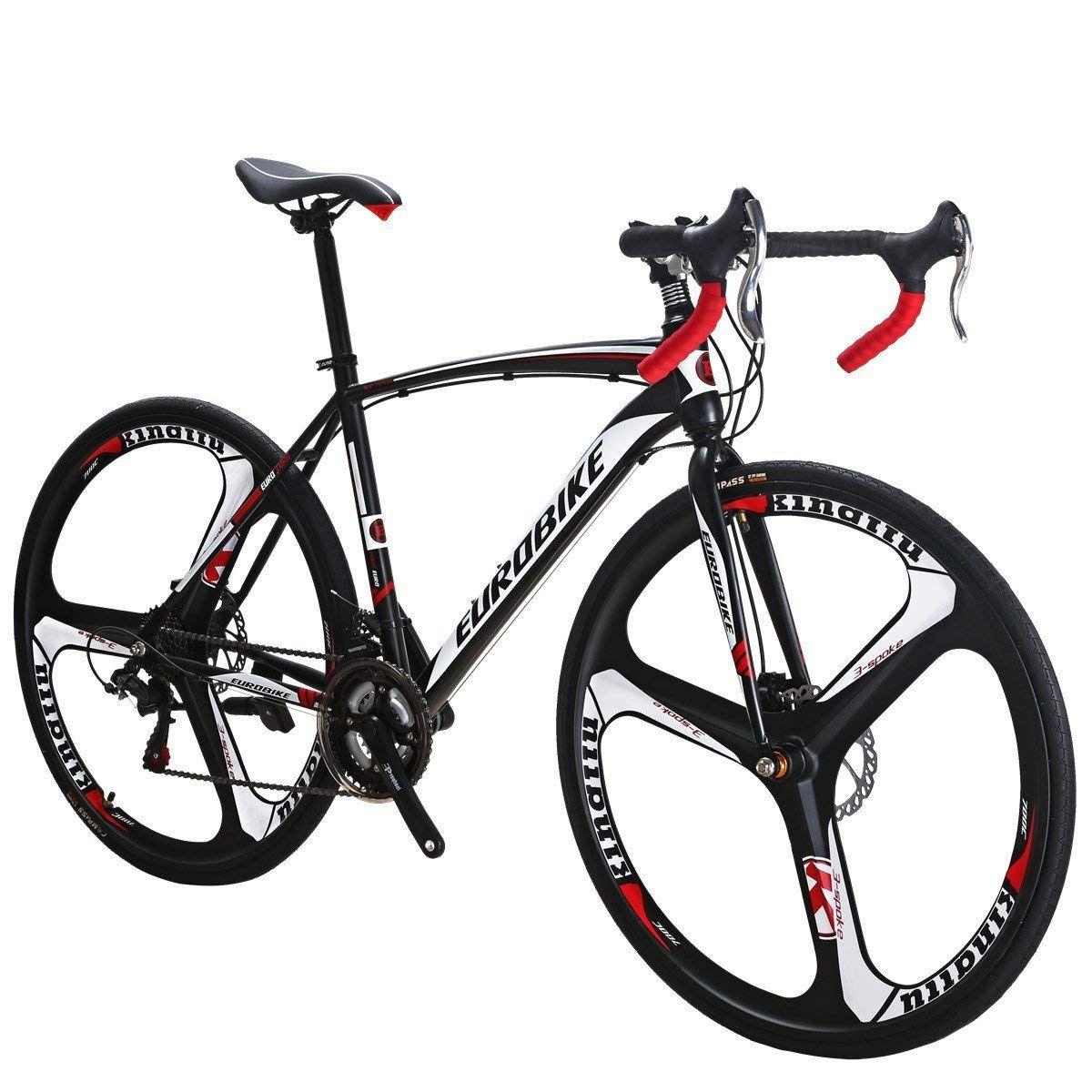 Eurobike Road Bike Xc550 Bike 21speed Gears Road Bicycle Dual Disc