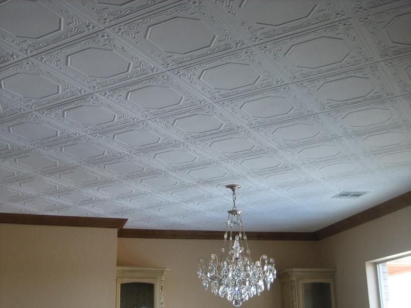 Decrotive Ceiling Panels Styrofoam Ceiling Tiles Finished Projects