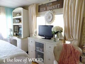 4 the love of wood: SHABBY CHIC OFFICE FURNITURE