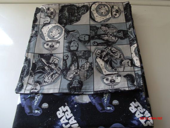 Let's Fight the Empire Star Wars baby Blanket 100% by rgilliland
