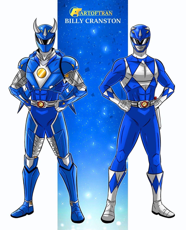 Art Of Tran In 2020 Ranger Armor Power Rangers Poster Power Rangers Cosplay