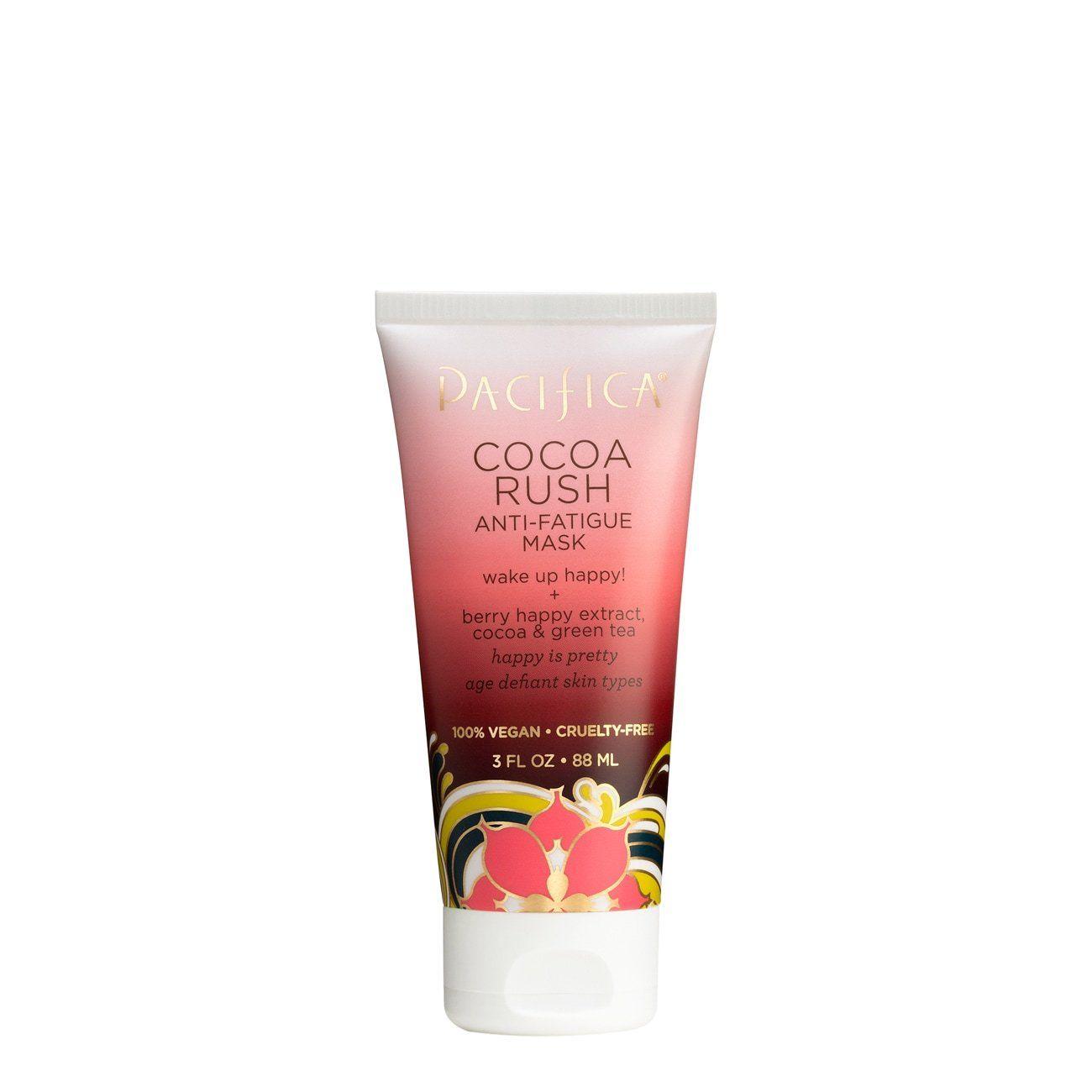 Cocoa Rush Anti Fatigue Mask Pacifica Skin Care Cocoa Clean Skincare