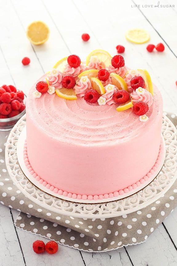 Lemon Raspberry Layer Cake Easy Homemade Lemon Cake Recipe Recipe Homemade Lemon Cake Recipe Homemade Lemon Cake Easy Homemade Lemon Cake