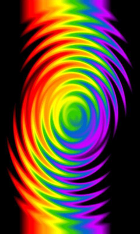 Colors Of The Rainbow Fractals 3d Pinterest Regenbogen