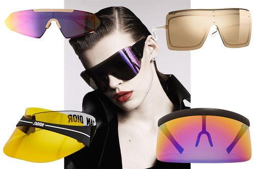 lunettes de soleil masque dejantees ete cannes festival dior chanel ... 70c8787642f6