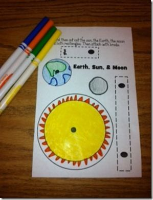 the earth sun and moon games