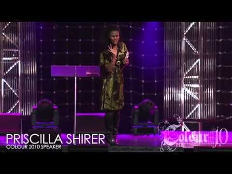 LOL Priscilla Shirer At Word Faith Hillsong Chuch Color Conference 2010 She's so funny!