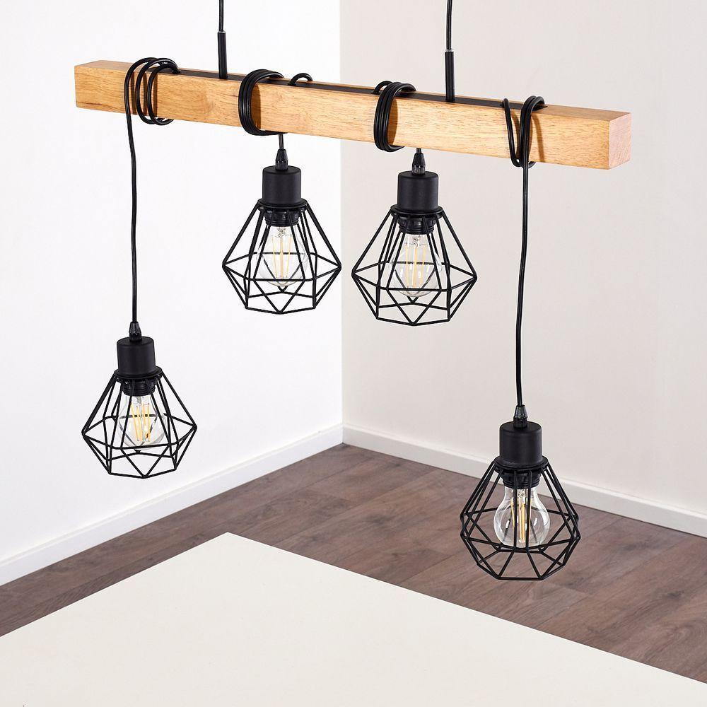 Holzbalken Lampe Barbengo Eine Esstischlampe Aus Holz In 2020 Diy Furniture Easy Book Candle Diy Furniture