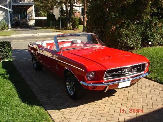 Cherry Red Vintage Convertible Mustang Vintage Cars Pinterest