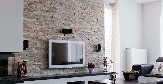 Papier peint trompe lu0027œil - 33 idées pour embellir maison Salons - decoration maison salon moderne