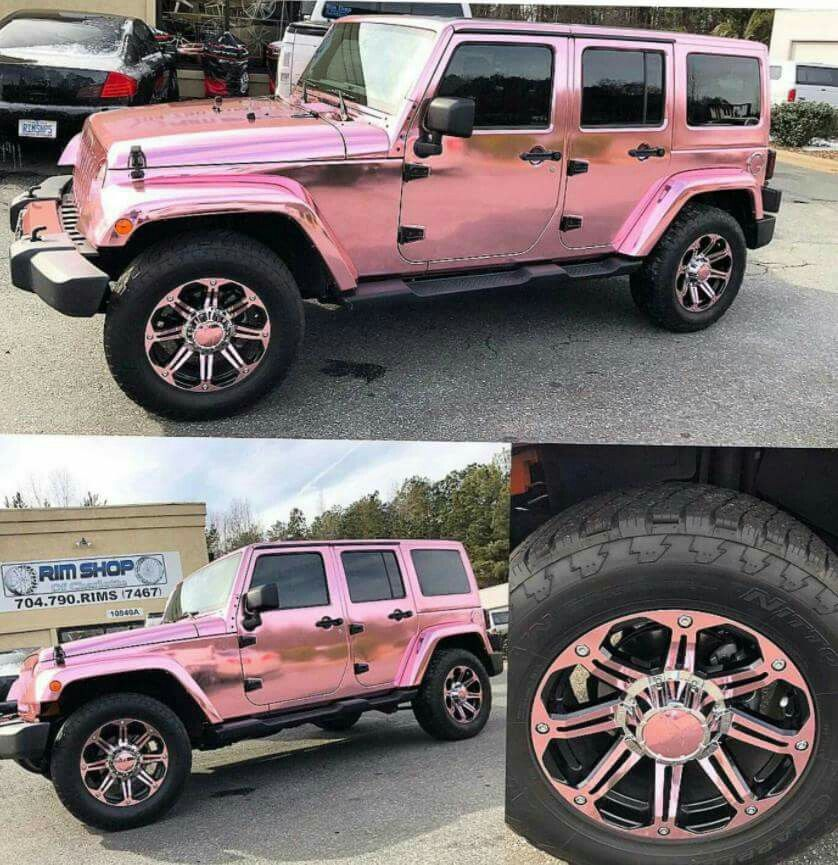 Love This Rose Gold Color Jeeps Jeep Cars Jeep Pink Jeep