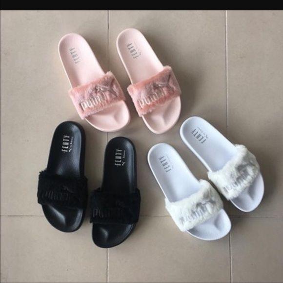Fenty fur slide BNIB!!! NWT | Puma slippers, Rihanna shoes ...