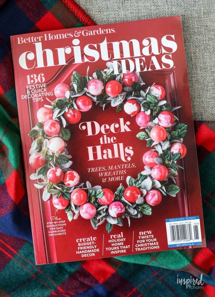 Christmas Inspired From Bhg Christmast Ideas Magazine 2019 Christmas Holiday Decor Recipe Entertaining I Ribbon On Christmas Tree Holiday Decor Christmas