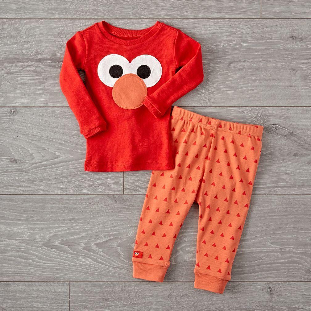 5f8821791 Sesame Street Elmo Pajama Set