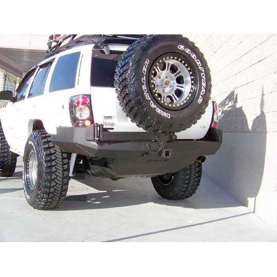 Wj Grand Cherokee Rear Bumper With Tire Carrier Jeep Wj Jeep