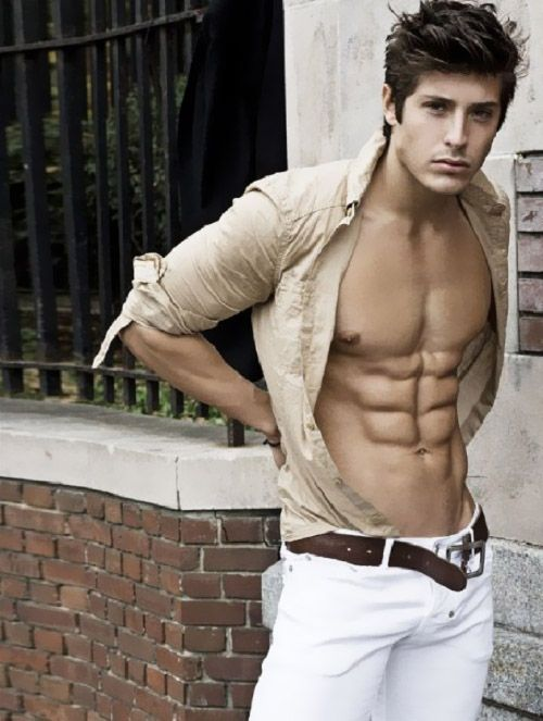 Pin On Shirt Open Provocatively Hot Guys