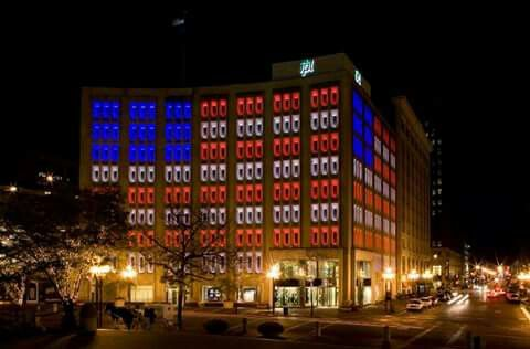 Indianapolis Power Light Building Indianapolis Pinterest