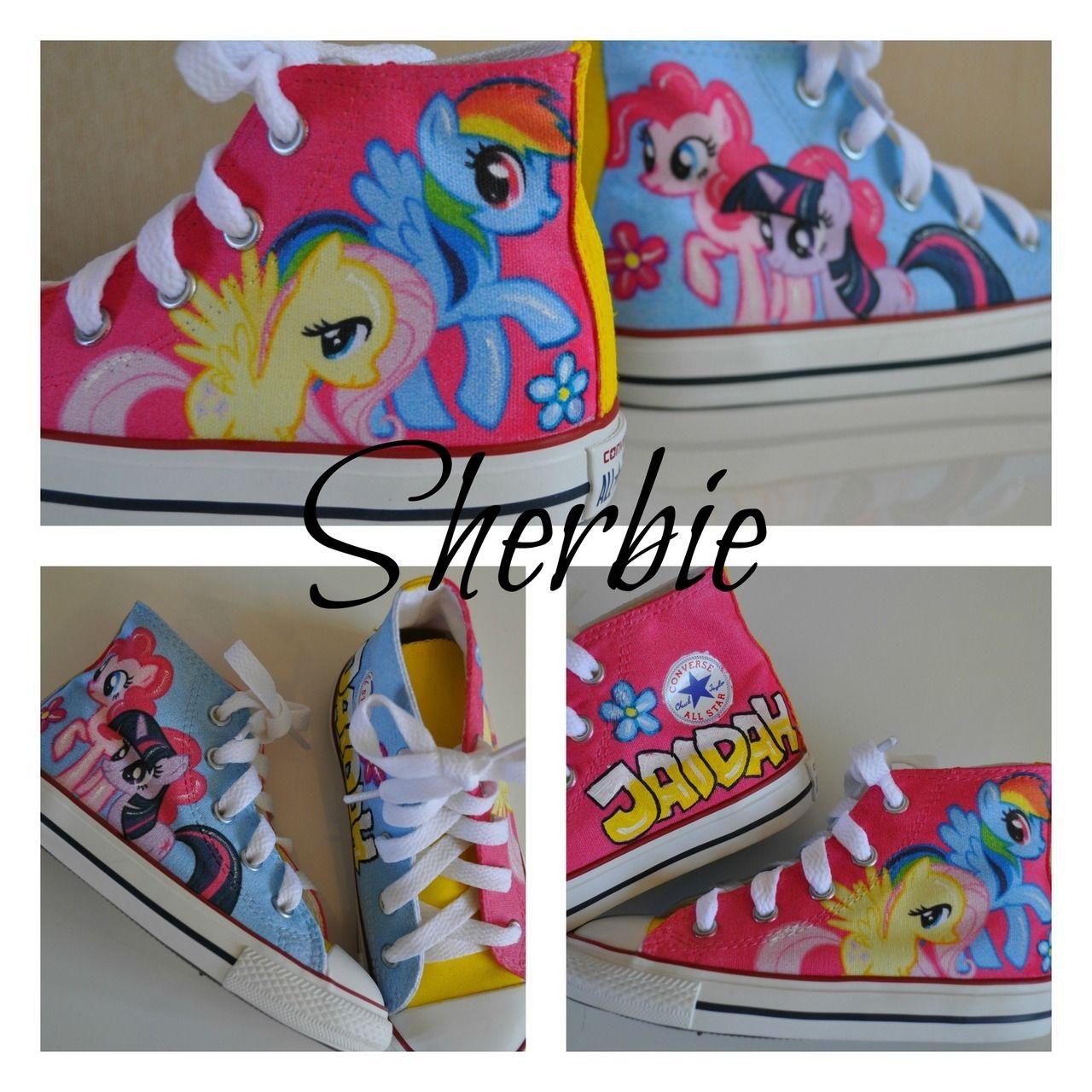 My Little Pony Kids Low Top Converse