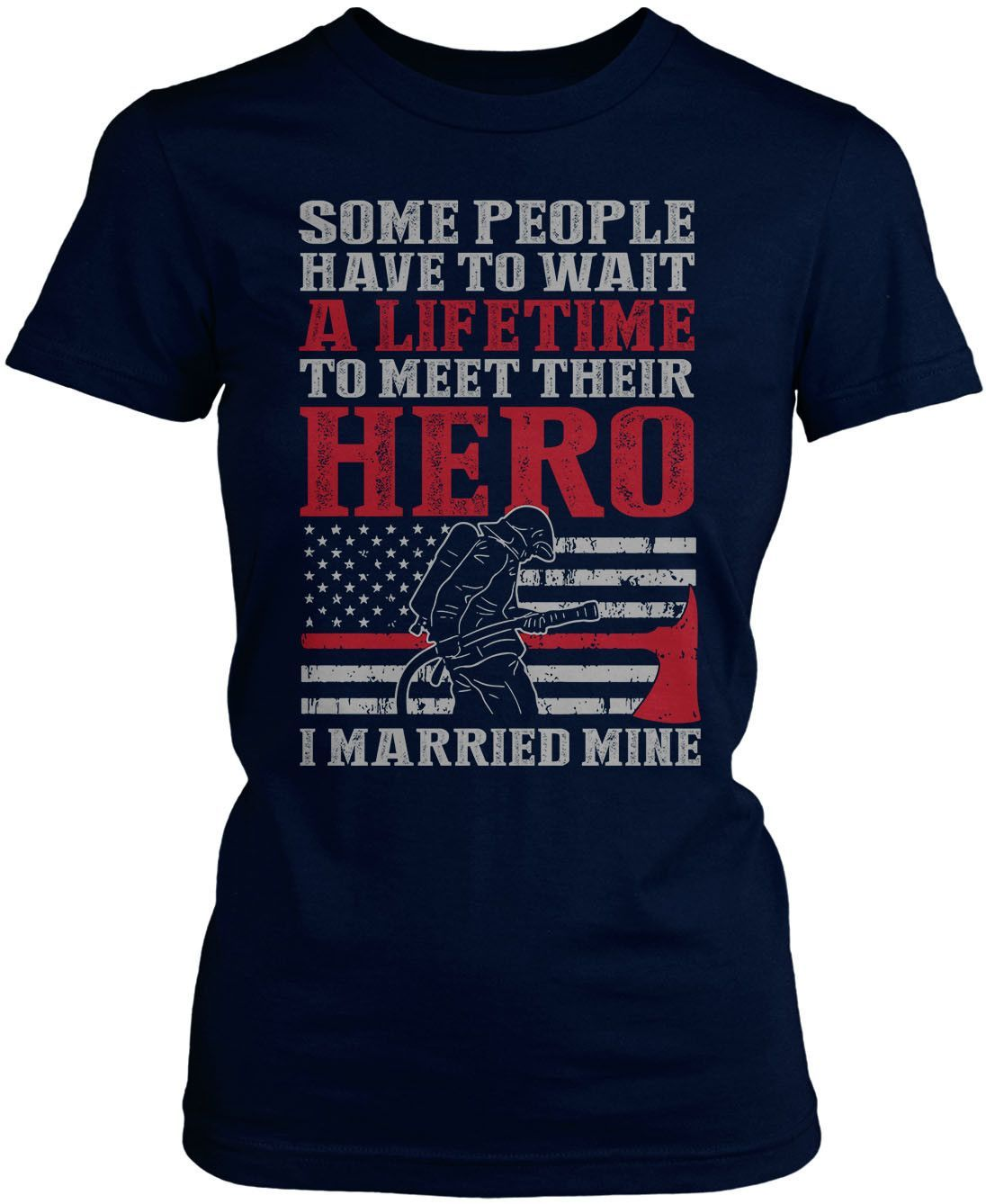 I Married My Firefighter Hero
