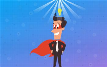 Economic development superhero