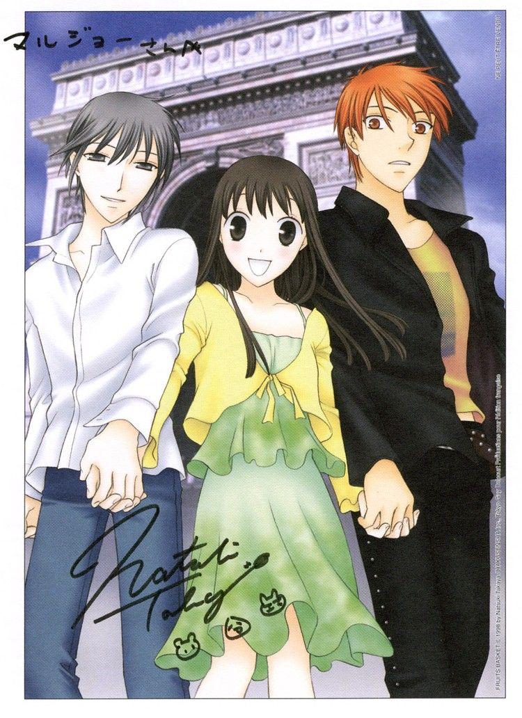 Kyo Sohma And Tohru Honda Fanfiction Kyo, Tohru and Yuki, F...