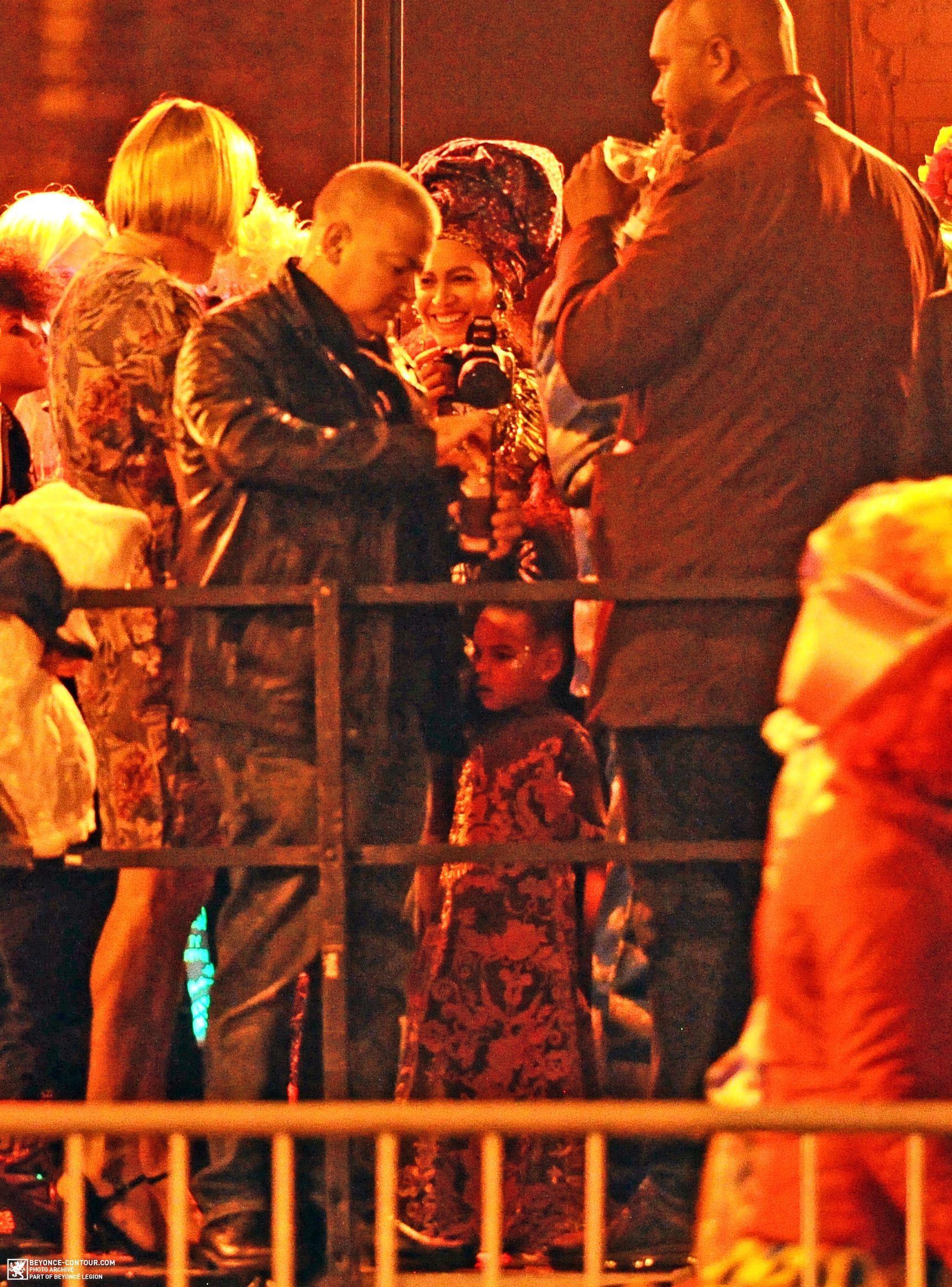 Beyoncé & Blue Ivy At Their Halloween Party At Charlie Bird ...