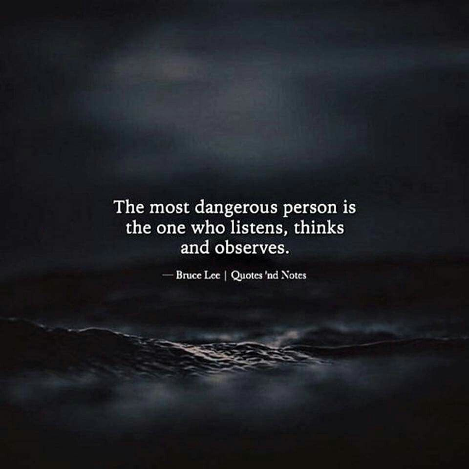 Finding a person who listens, thinks and observes is so rare