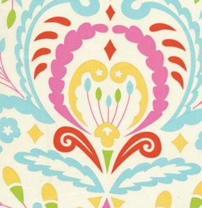 Kumari Garden Sujata Pink Fabric by  Free Spirit