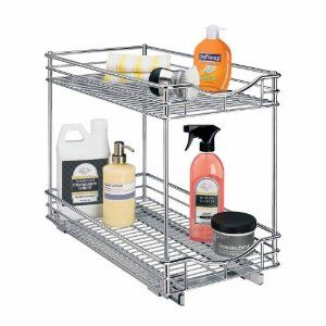 Under sink pull-out organizer