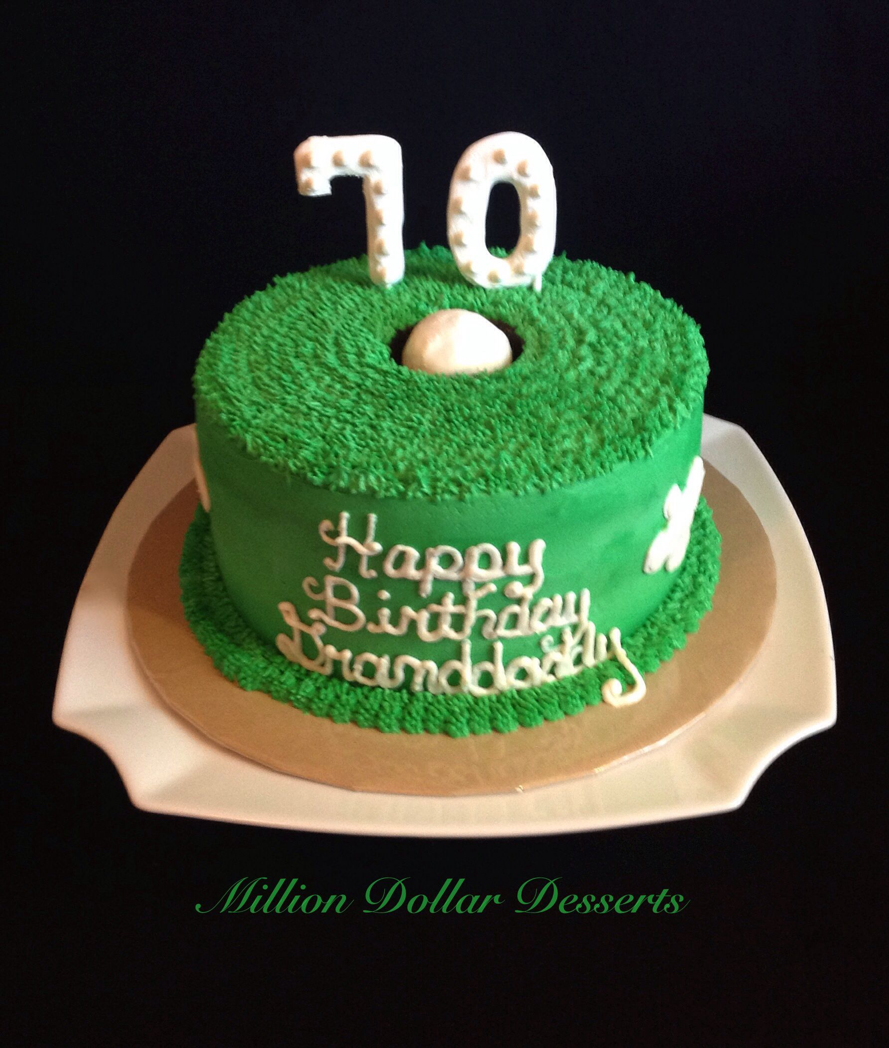 Hole In One Cake Golf Cake Desserts Cake Birthday Cake