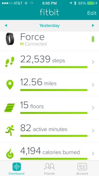 Mobile UI - Fitbit | Data Visualization | Pinterest ...