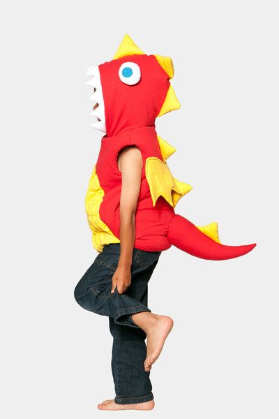 Glammic Dragon costume with attached hood.  Made to Order at Glammic.com.