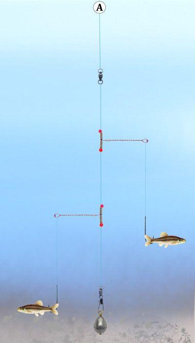 Fishing Tandem Pickeral Rig Crappie Fishing Fishing