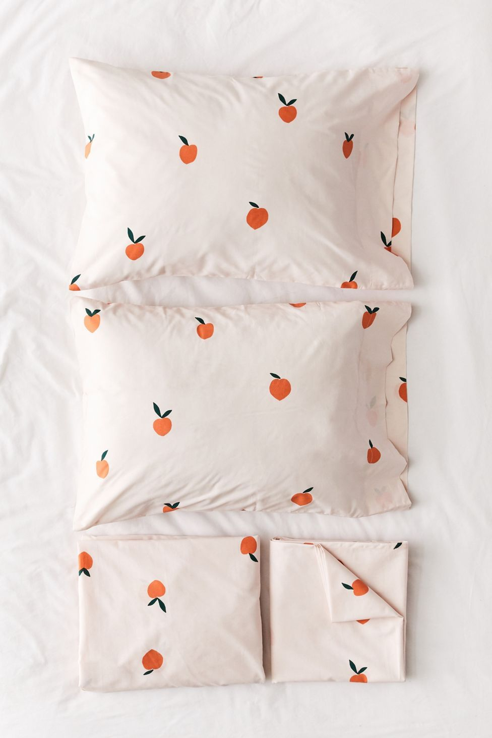 Allover Peaches Sheet Set   Urban Outfitters in 2020