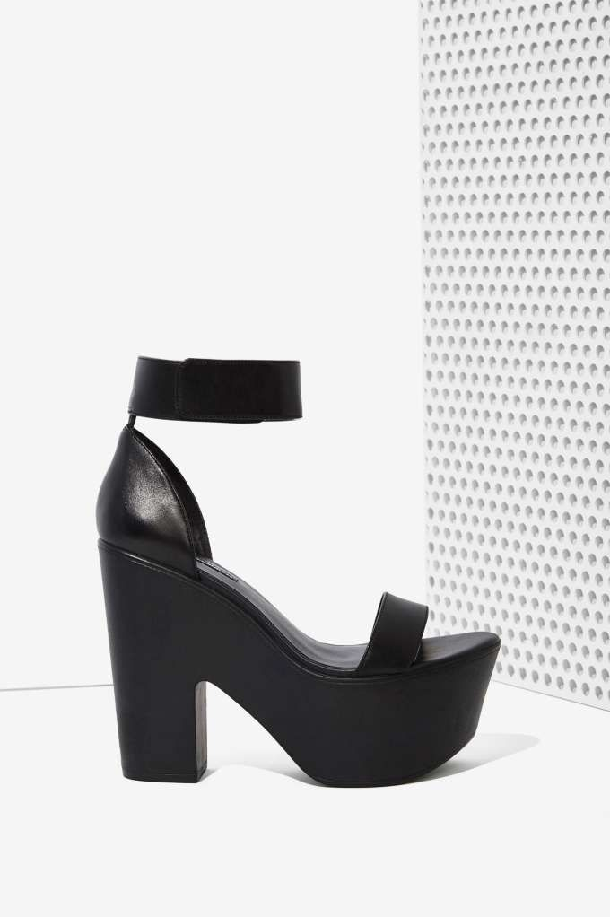 windsor smith luxe leather platform | shop what's new at nasty gal