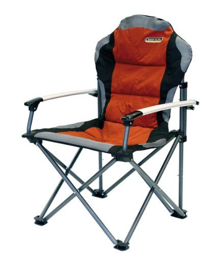Quest Elite Comfort Plus Folding Camping Chair Heavy Duty   Max Load 120kg  Quest Elite Http