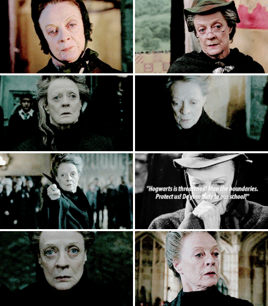minerva mcgonagall - harry potter
