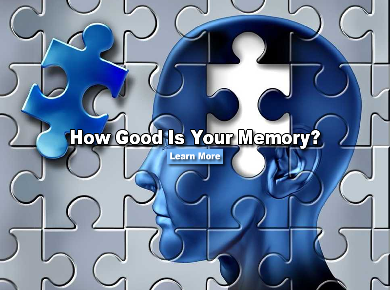 How good is your memory quiz
