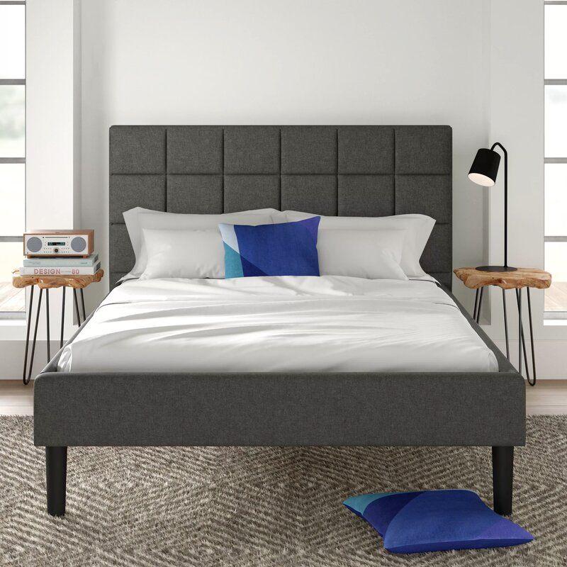Colby Upholstered Platform Bed Reviews Allmodern Platform