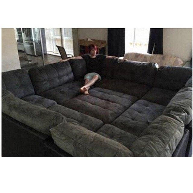You Donu0027t Want A Couch. You Want 3 Couches Forming A Giant Fucking