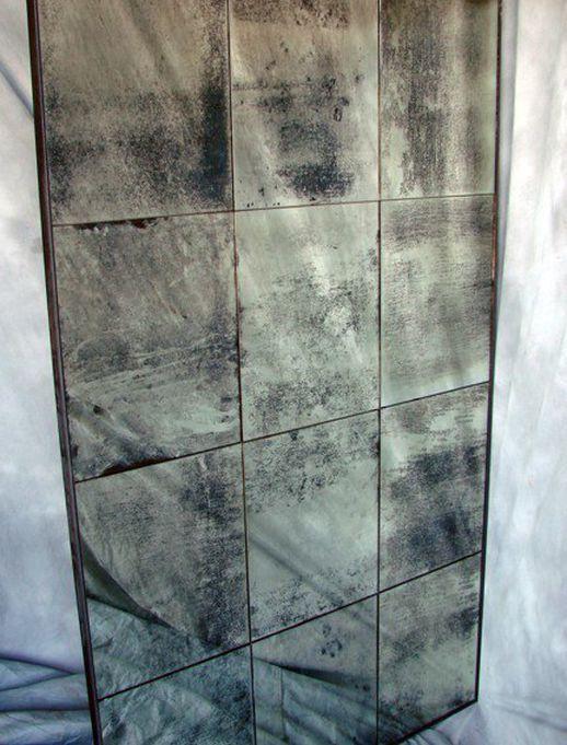 Mirror-tique Custom Distressed Antiqued Multi-Panel Mirror ...